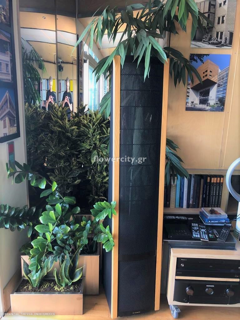 ΙΔΙΩΤΙΚΗ ΚΑΤΟΙΚΙΑ ΘΕΣΣΑΛΟΝΙΚΗ ζωντανά φυτά