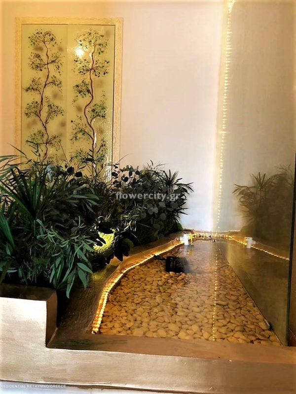 Ιδιωτική κατοικία Ρέθυμνο διατηρημένα φυτά