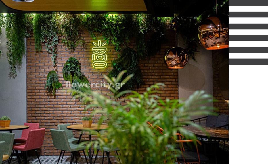 Flowercity έργα πρασίνου
